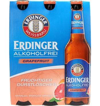 Erdinger Grapefruit alkoholfrei 6 x 0,33 ltr. Six Pack ...