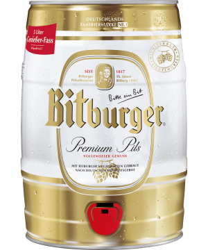 bitburger 5 ltr.